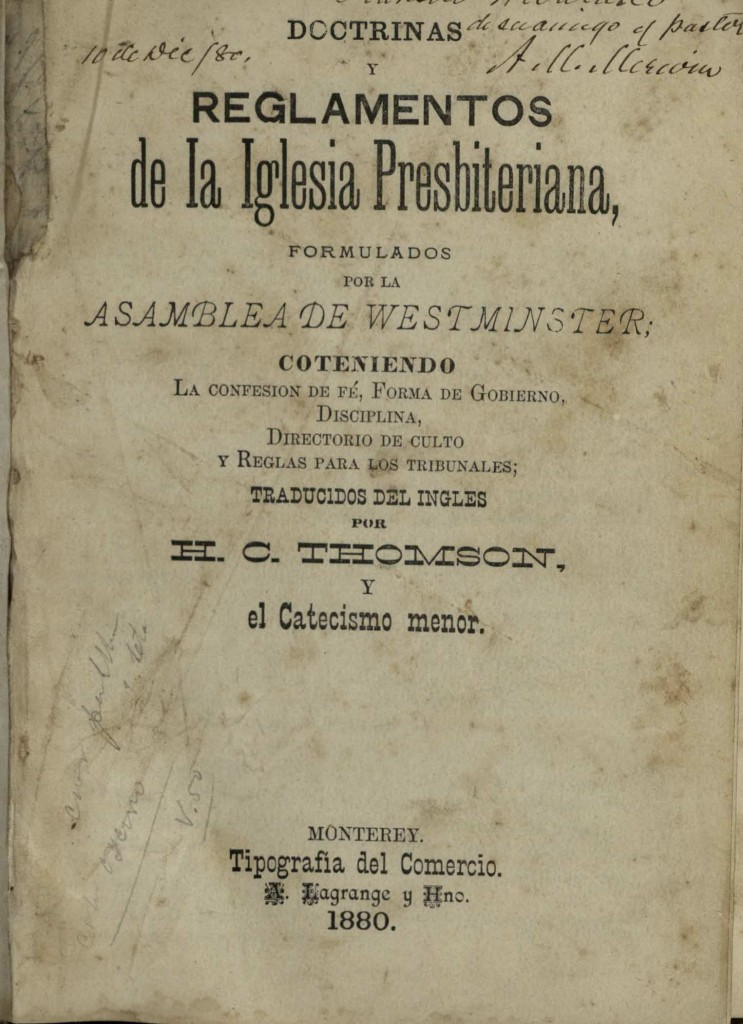 regiamento_presbiteriana